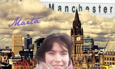 Marta Smith en Inglaterra