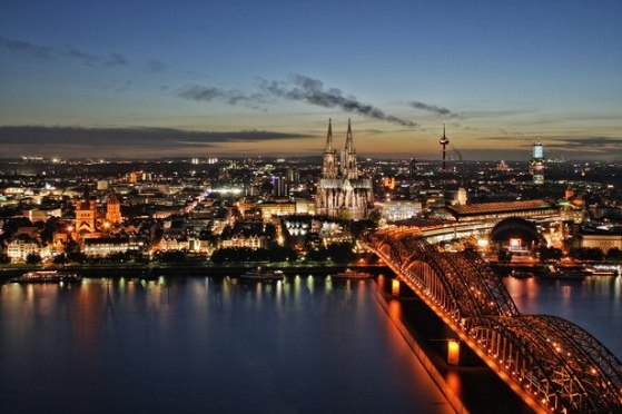 Atardecer en Colonia