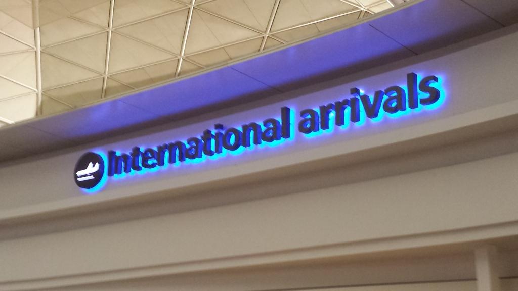 Arriving London!