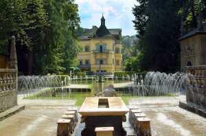 Hellbrunn juegos de agua